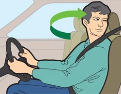kỹ năng quan sát khi lái xe ô tô